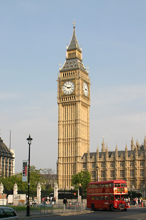 Big Ben and the Bus
