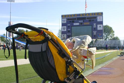 Zack in Husky Stadium